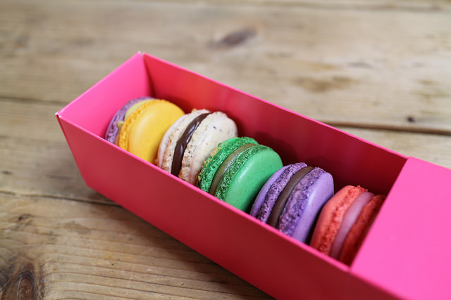 Les Petits Bisous Serves Authentic French Macarons, Eclairs and More