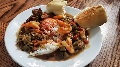 Enjoy a New Orelans-Inspired Brunch at Backfin Blues: Creole de Graw